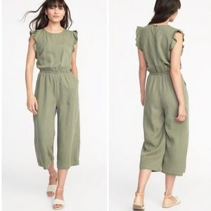 ON Flutter Sleeve Jumpsuit